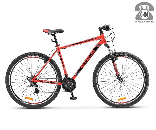 """Велосипед Стелс (Stels) Navigator 500 V 29 (2017), рама 19.5"""" размер рамы 19.5"""" красный"""