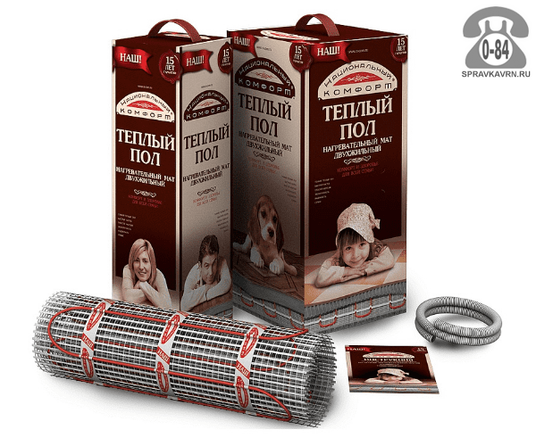 Тёплый пол Национальный комфорт 2НК-1400-10,00