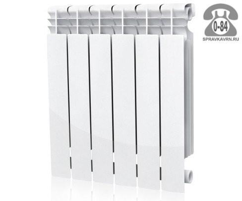 Радиатор отопления Варма (Warma) 350 биметаллический (сталь + алюминий) 8 секций
