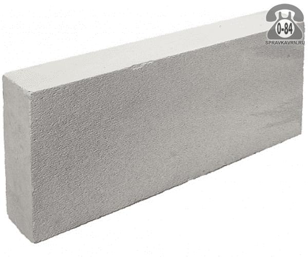 Блок газосиликатный D-500 600x100x250мм г. Липецк, Газобетон 48, ООО