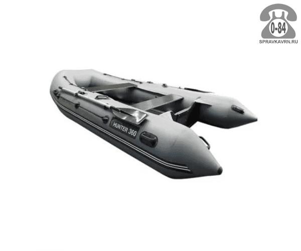 Лодка надувная Hunterboat Хантер 360, серый 360001