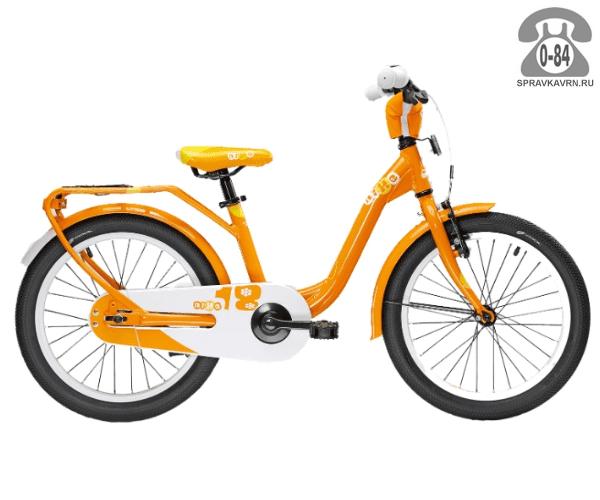 Велосипед Скул (Scool) niXe 18 1S (2016), оранжевый