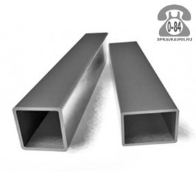 Профильные стальные трубы 40*25 2 мм 6 м