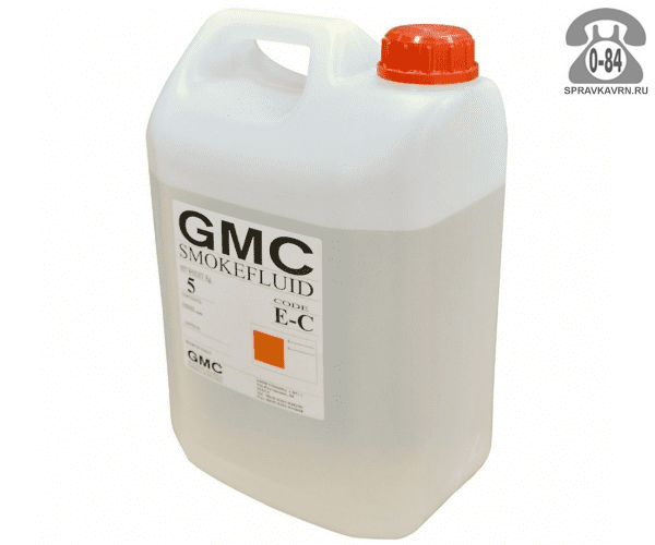 Жидкость для производства дыма Джи Эм Си (GMC) SmokeFluid/EC