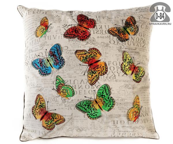 Подушка декоративная Белль Хоум коллекшен (Belle Home collection) бабочки