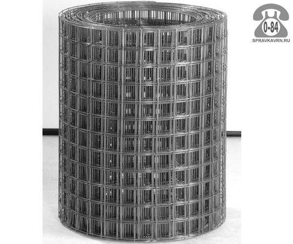 Сетка строительная диаметр 1.6 мм ширина 0.51 м ячейка 50х50мм