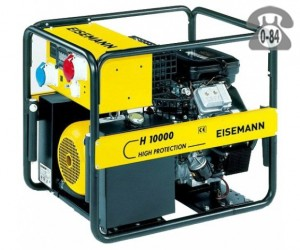 Электростанция Эйсман (Eisemann) H 10000 двигатель Briggs and Stratton