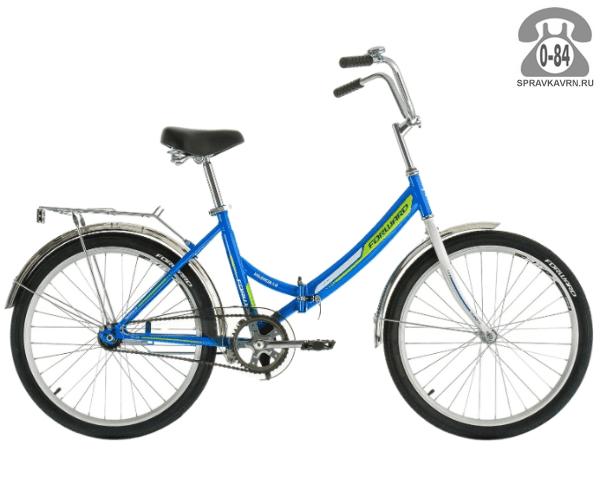 "Велосипед Форвард (Forward) Valencia 1.0 (2017) размер рамы 16"" синий"