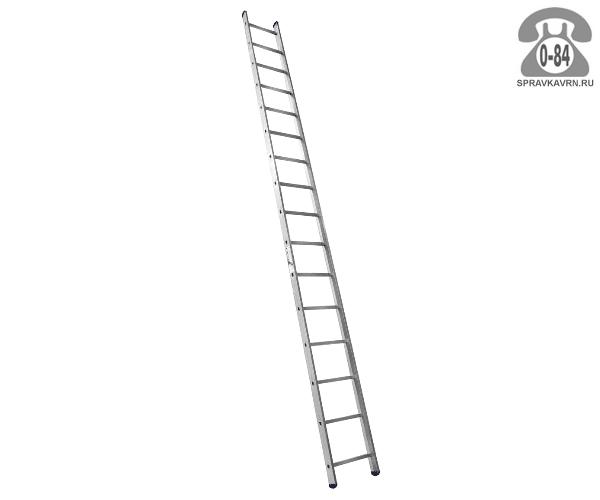 Лестница приставная Алюмет (Alumet) HS1 6116