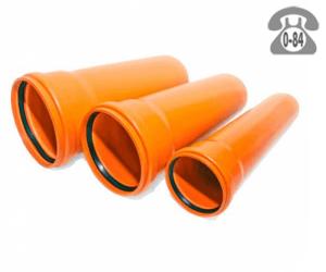 Пластиковая труба безнапорная