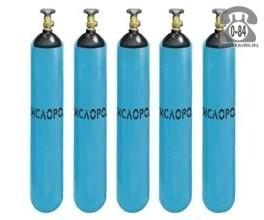 Баллон для газа кислород 10 л металл