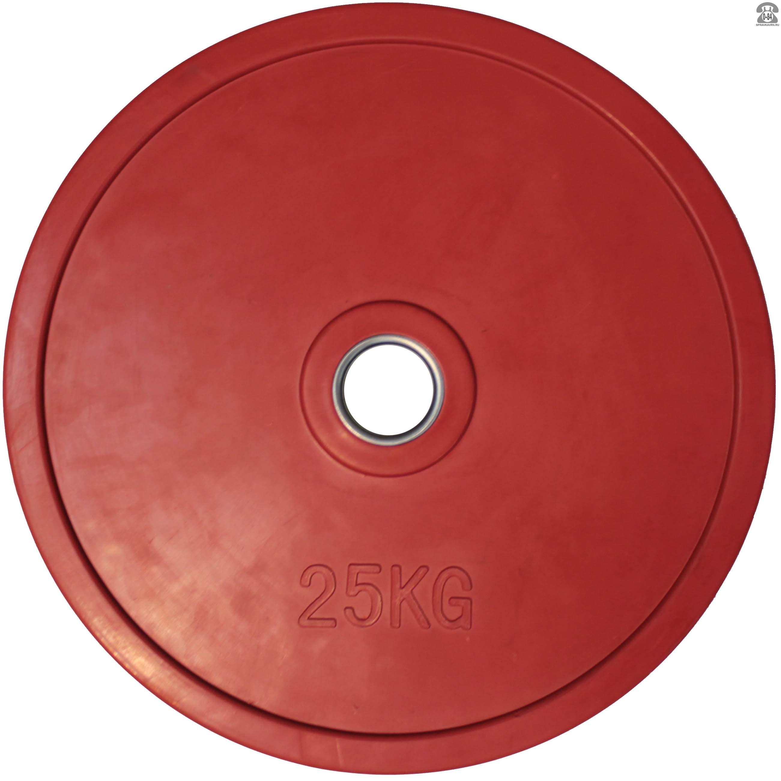 Диск для штанги Олимпийский 25 кг