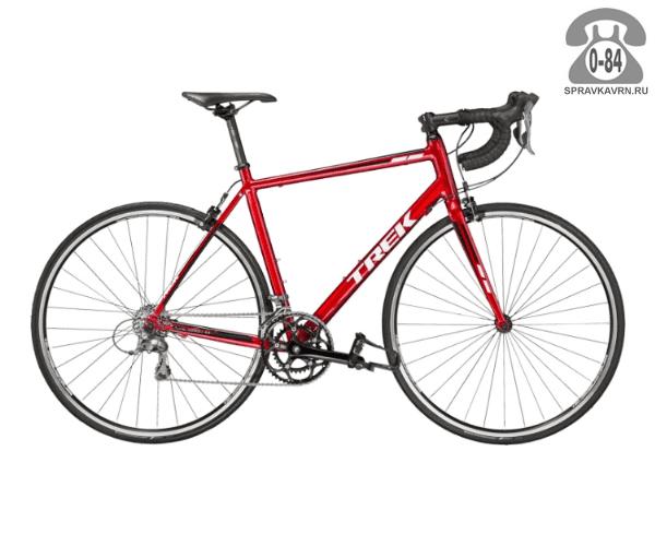 """Велосипед Трек (Trek) 1.1 (2016), рама 21.5"""" размер рамы 21.5"""" красный"""