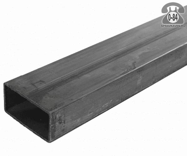 Профильные стальные трубы 50*25 2 мм 3 м