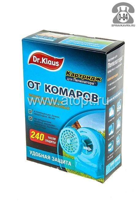 Кассета Доктор Клаус (Dr. Klaus) от комаров