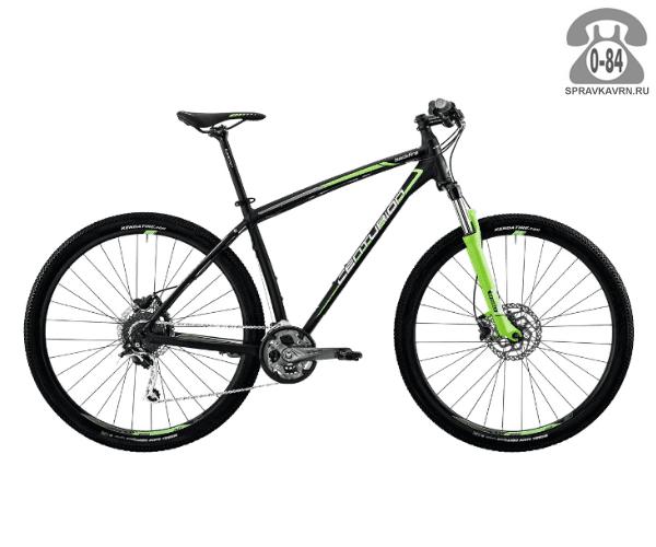 """Велосипед Центурион (Centurion) Backfire Pro 200.29 (2017) размер рамы 19.5"""" черный"""
