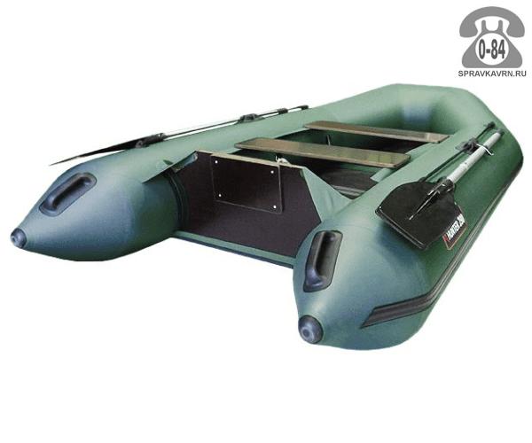 Лодка надувная Hunterboat Хантер 290 Л, зеленый 290032