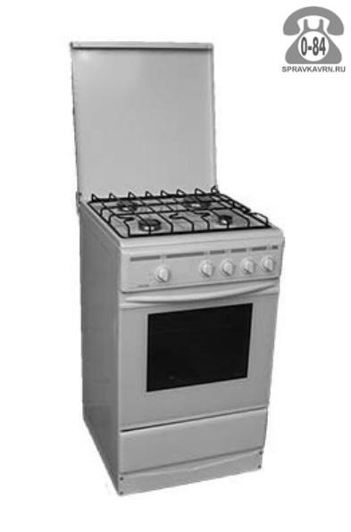 Газовая плита Лада эмаль газовая 4 58 см 50 см газ-контроль духовки с крышкой г. Волгоград