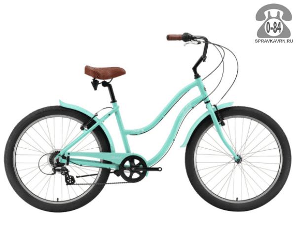 "Велосипед Сильвербэк (Silverback) SCARLET 7 (2016) размер рамы 18.5"" зеленый"