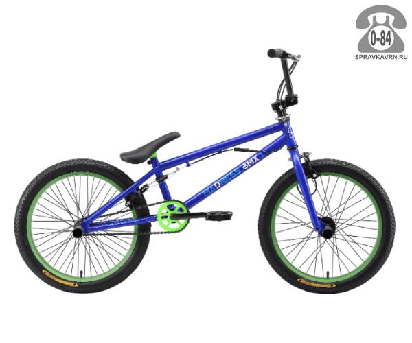 Велосипед Старк (Stark) Madness BMX 1 (2017), синий