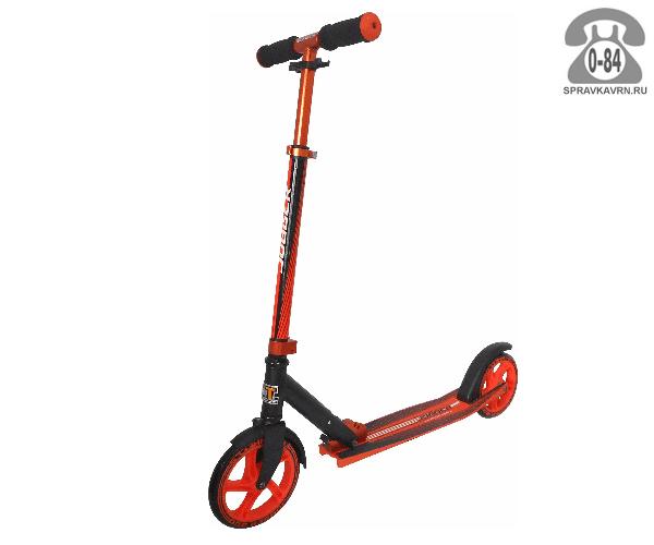 Самокат Teach Team Jogger, цвет: оранжевый S-TT-J-O