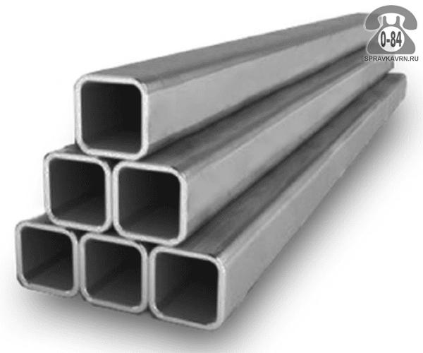 Профильные стальные трубы 40*20