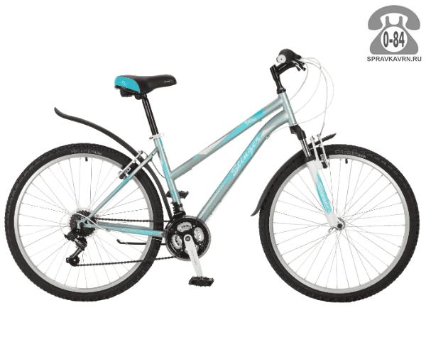 """Велосипед Стингер (Stinger) Latina 26"""" (2017), рама 15.5"""", зеленый размер рамы 15.5"""" зеленый"""