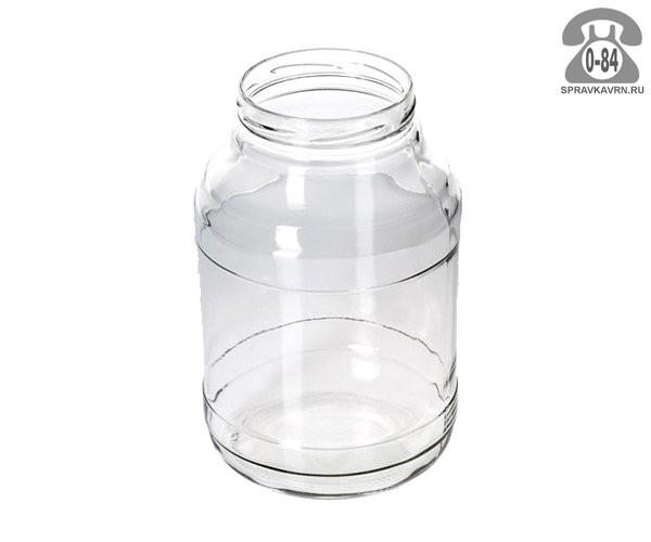 Банка стеклянная Твист-100 стандартная 2 л