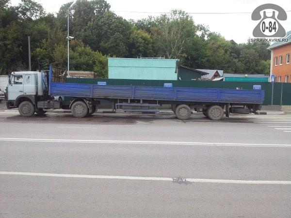 Грузоперевозка. Автомобиль грузовой с водителем МАЗ удлинённая база (длинномер) 20 т 13 м Россия аренда