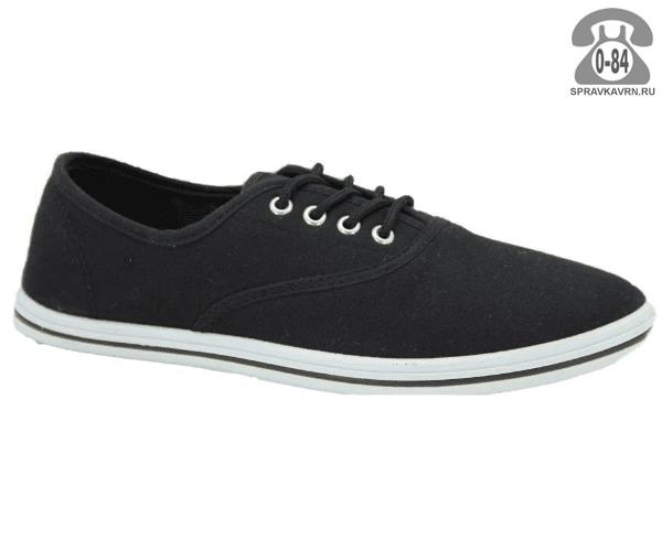 Кеды Триен (TRIEN) WJ 006 black jeans мужские 40-45размер, подошва: ПВХ