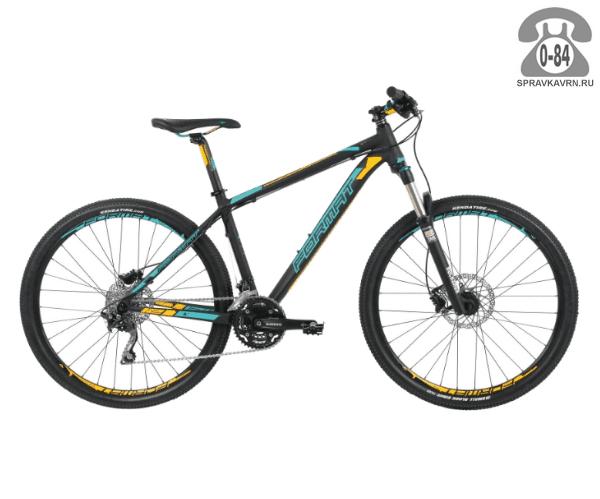"""Велосипед Формат (Format) 1213 27,5 (2017) размер рамы 17.5"""" черный"""