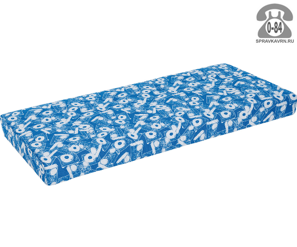 Матрас пенополиуретан (ППУ) 190 см 160 см 5 см