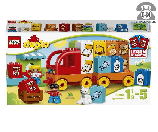 Конструктор Лего (Lego) Duplo 10818 Мой первый грузовик, количество элементов: 29