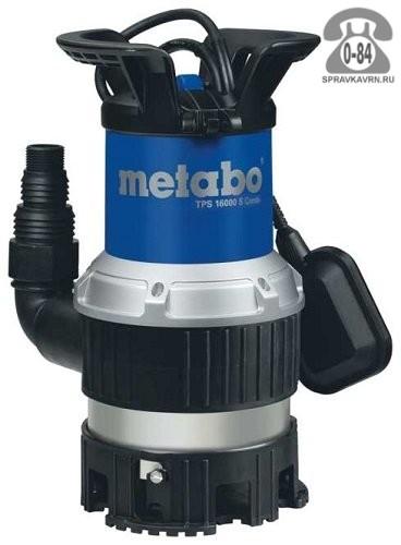 Насос водяной дренажный Метабо (Metabo) TPS 16000 S Combi