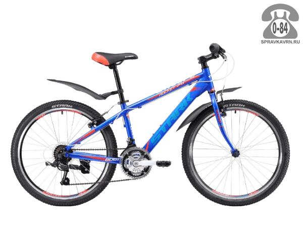 Велосипед Старк (Stark) Rocket 24.1 RV (2017), синий