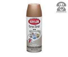 Краска Крилон (Krylon) Металлик премиум 226 0.34 кг матовая золотистая
