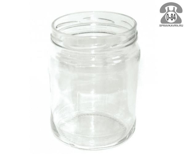 Банка стеклянная Твист-100 стандартная 1 л