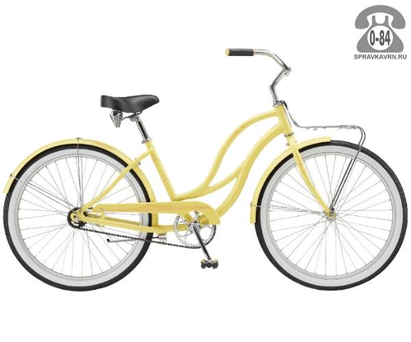 Велосипед Швин (Schwinn) SLIK CHIK (2017) желтый