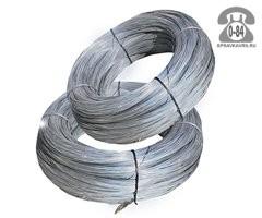 Проволока металлическая стальная 3 мм термически обработанная (термообработанная) вязальная
