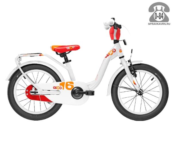 Велосипед Скул (Scool) niXe 16 alloy (2017), белый