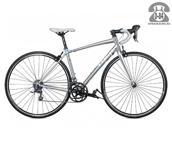"""Велосипед Трек (Trek) Lexa (2016) размер рамы 21.5"""" серый"""