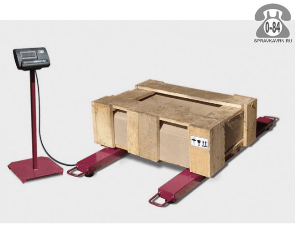 Весы товарные ВБ-600-2Б Стандарт НК платформа 1300*120мм 600кг точность 200г