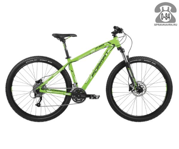 "Велосипед Формат (Format) 1412 29 (2017) размер рамы 17.5"" зеленый"