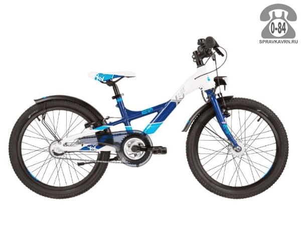 Велосипед Скул (Scool) XXlite pro 20 3-S (2017)