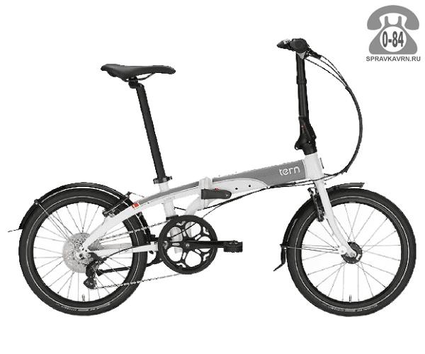 Велосипед Терн (Tern) Link D8 (2017), белый