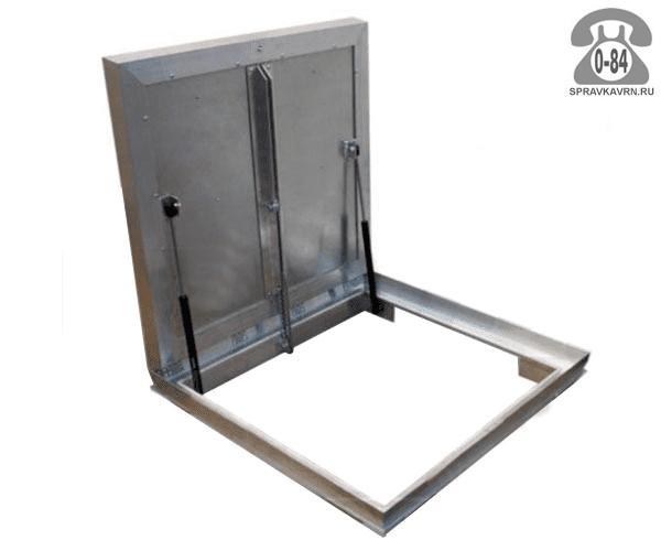Люк ревизионный Колизей Лифт стандарт REVIZOR с амортизаторами напольный ну900900