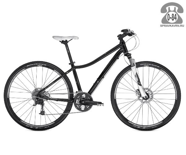"""Велосипед Трек (Trek) Neko (2016), рама 16.5"""" размер рамы 16.5"""" черный"""