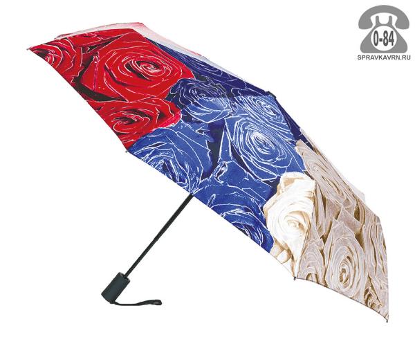 Зонт складной автоматический женский Китай