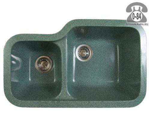 Мойка кухонная Фосто (Fosto) КМ 79-48