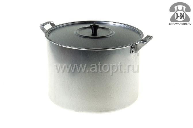 Кастрюля Белая Калитва 14100 алюминиевая 10 л